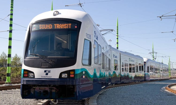 Sound Transit light rail in Seattle